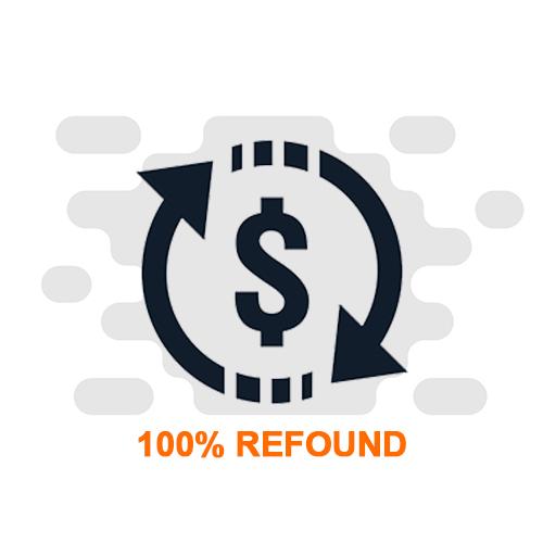 Bergaransi tukar barang atau refund 100%  jika barang riject