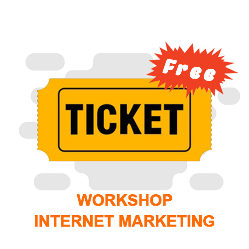 Free Tiket Workshop Internet Marketing (Minimal order 10lsn perbulan)